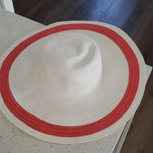 Janie & Jack floppy Straw Sun Hat